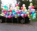 Гелиевые шары, Красочные композиции из шаров