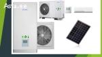 кондиционеры, тепловые насосы и солнечные панели