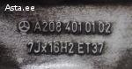 Литые диски Mercedes-Benz R16 7Jx16H2ET37