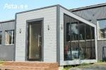 Модульный дом с большим панорамным окном 4на2 метра
