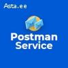 Сервис Postman 10€ за пересылку почтовых отправлений