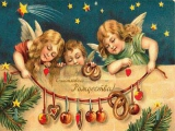 Рождественские открытки, открытка на рождество